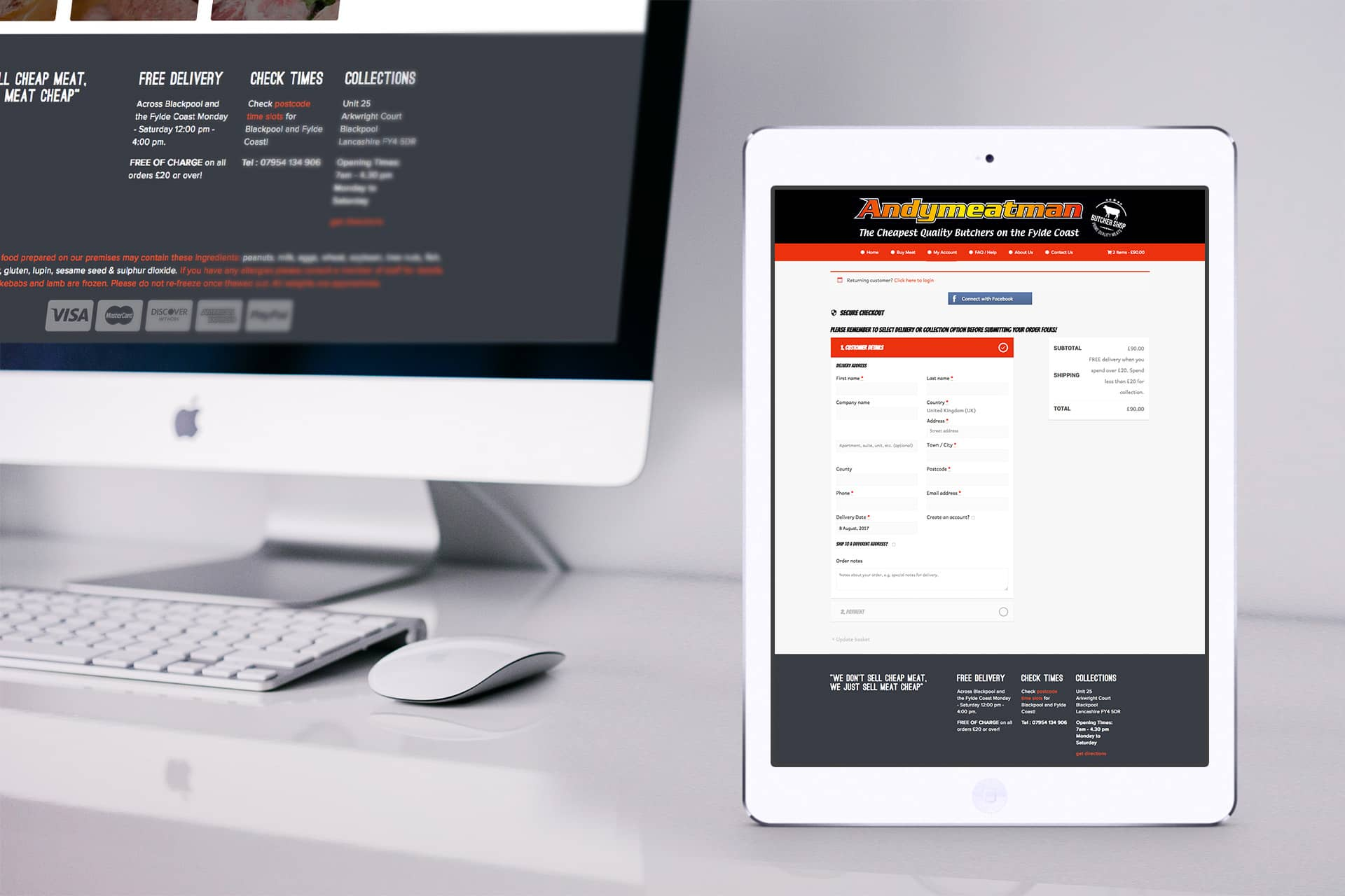 butchers web design