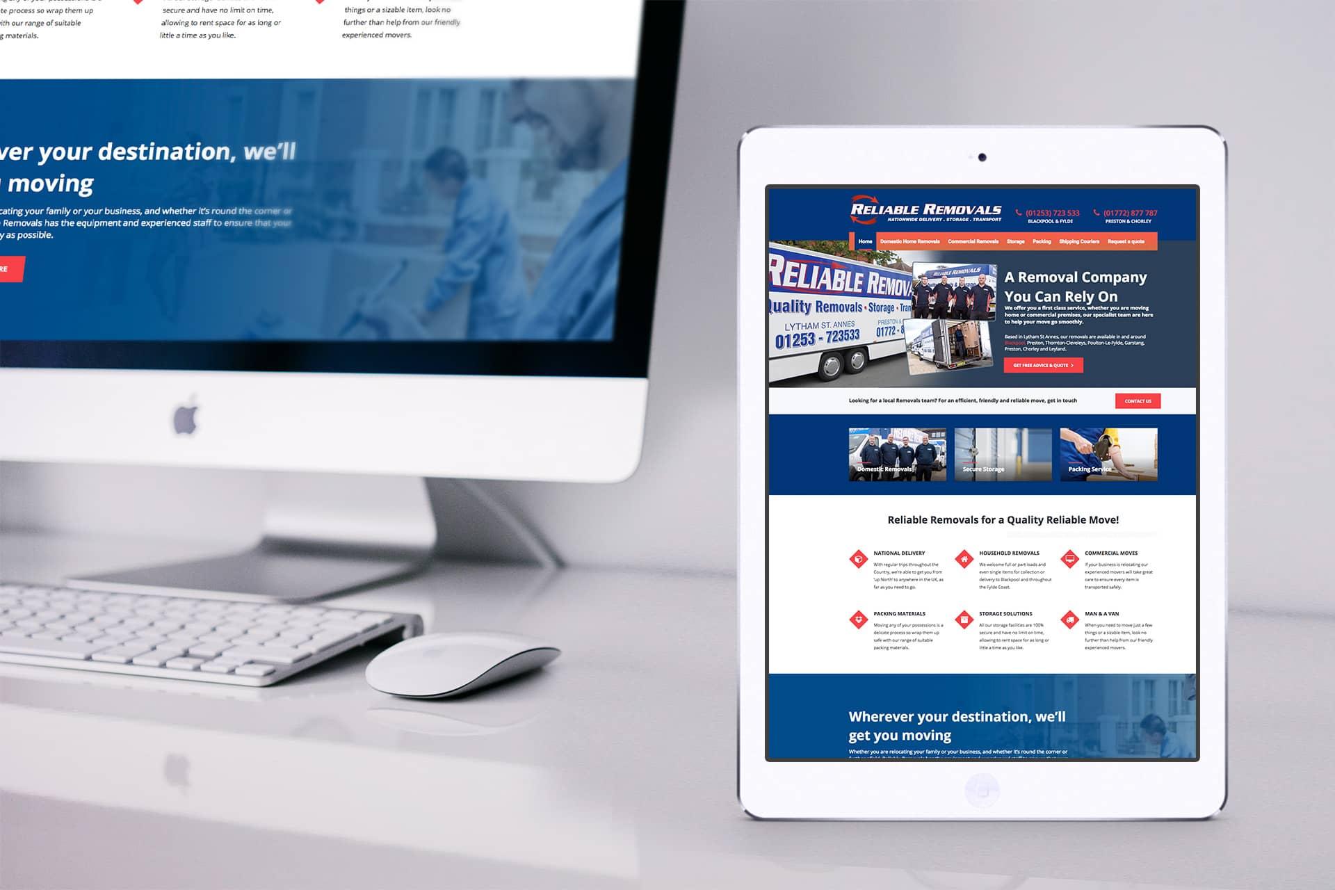 removals company web design 1