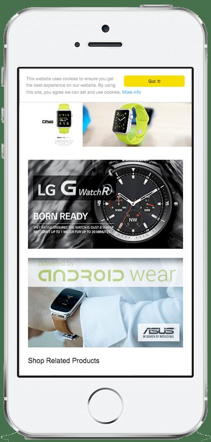responsive ecommerce websites