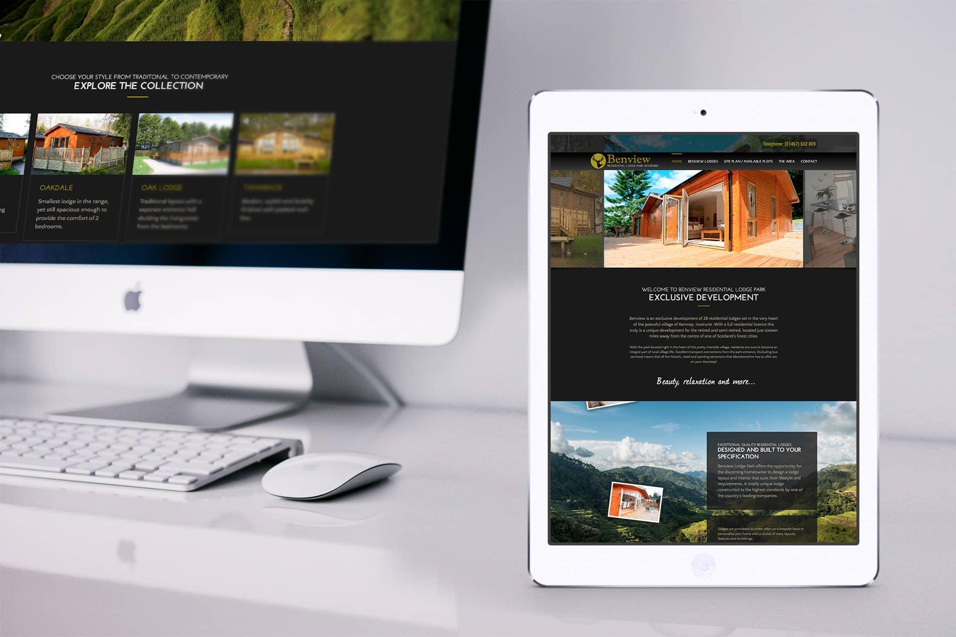 holiday park web design