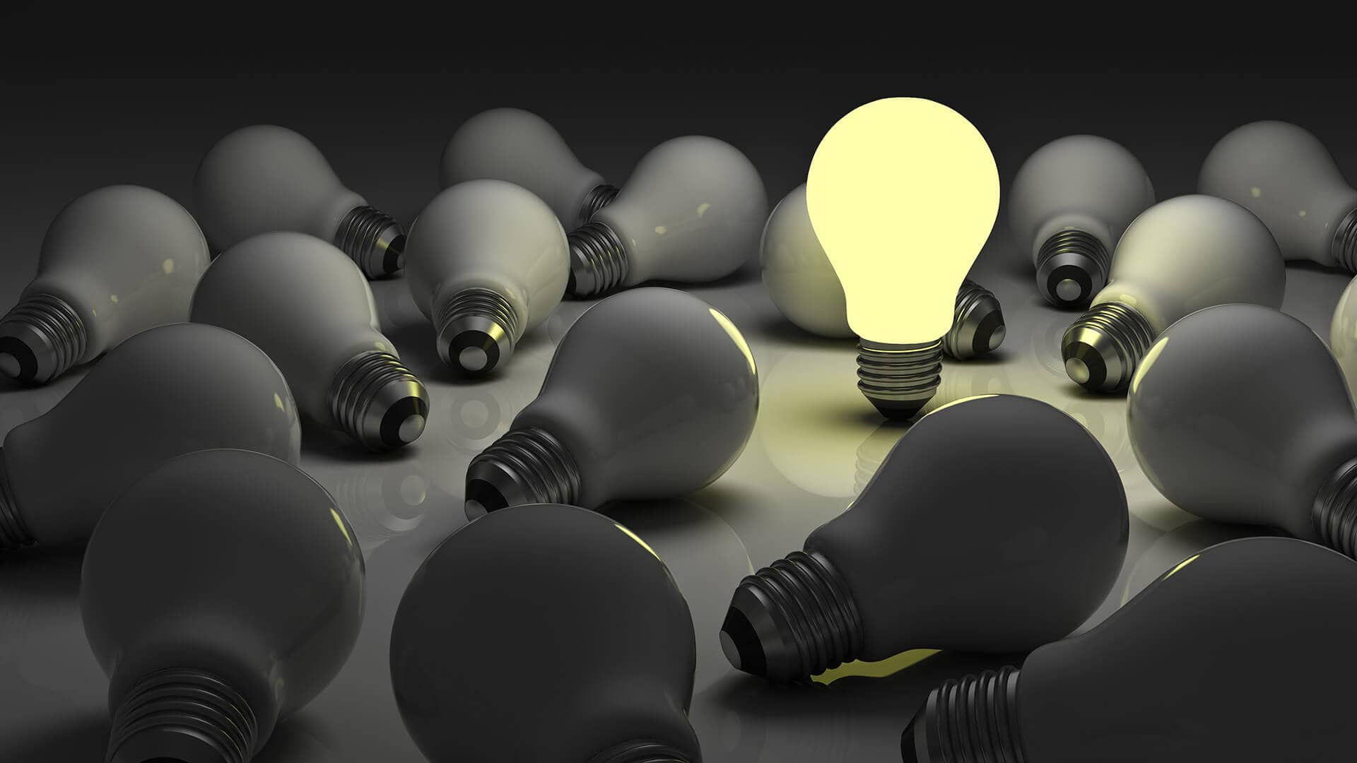 light bulb idea discovery unique different ss 1920