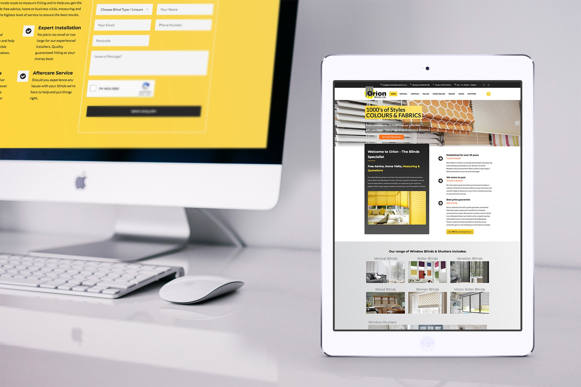Website designers Blackpool