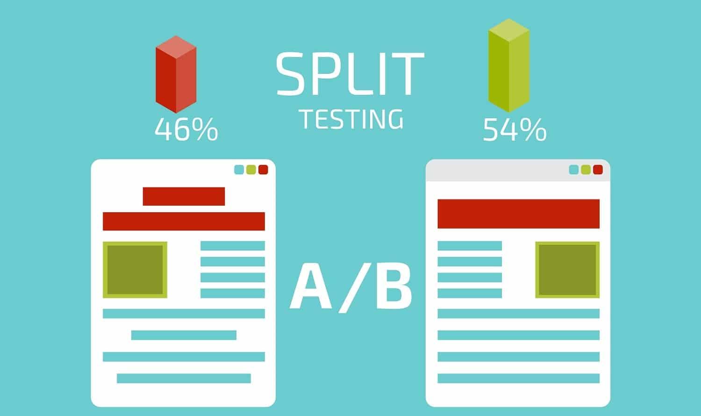 A B Split Testing Website