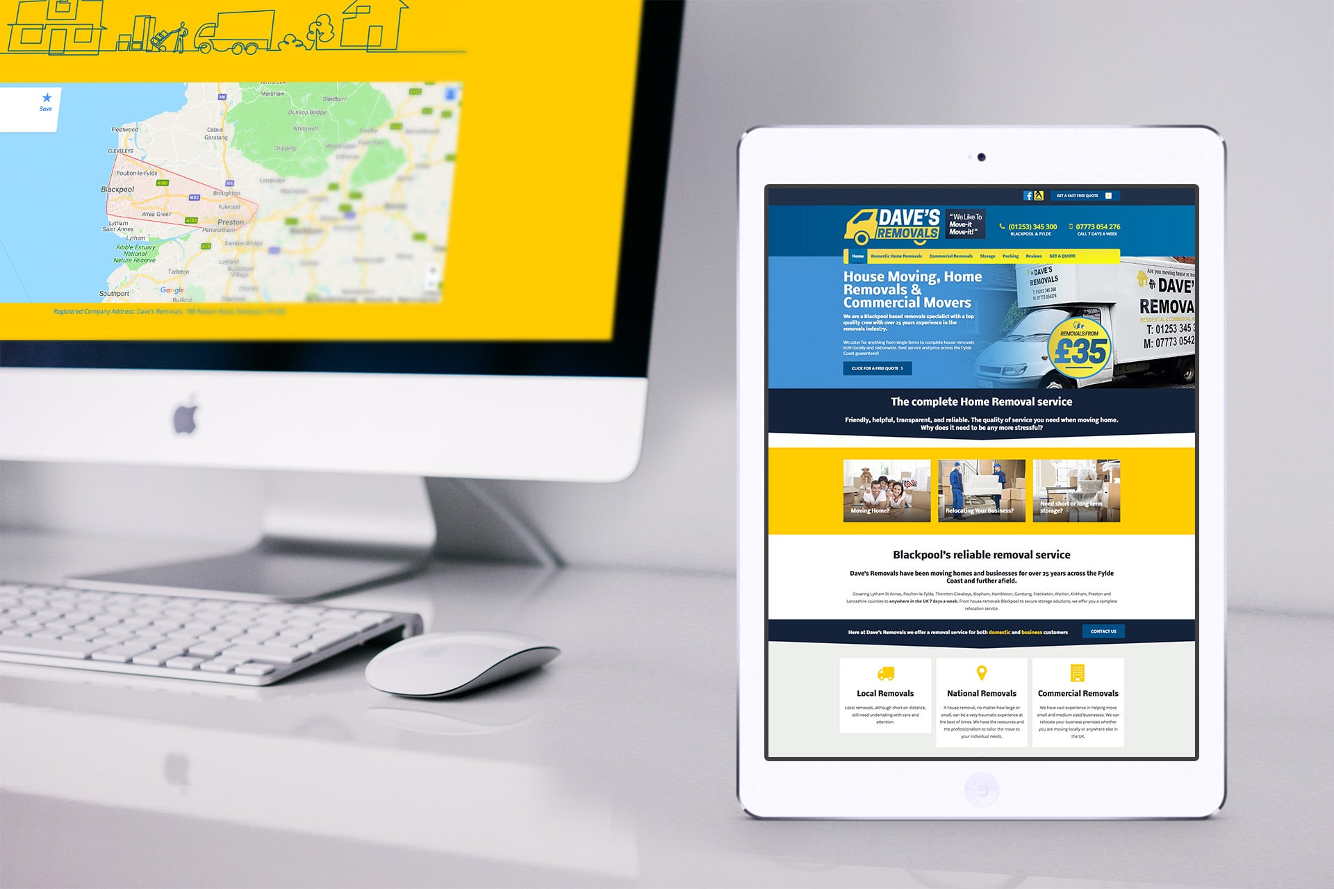 Blackpool web design