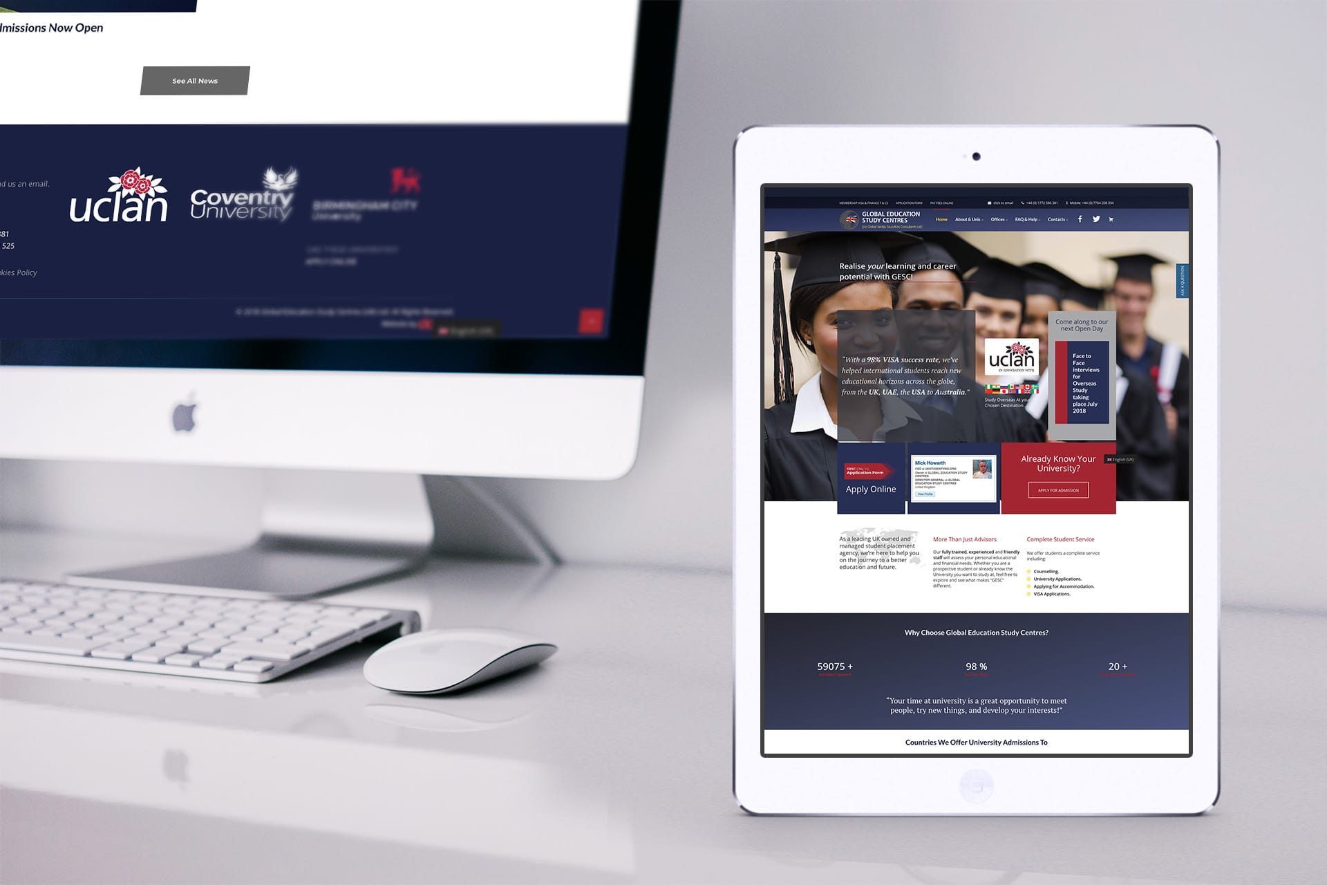 website design Preston