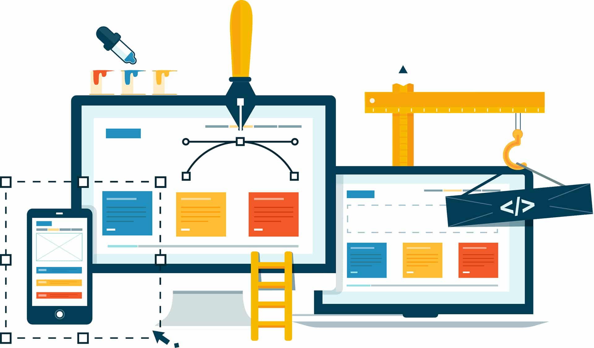 key elements of web design Here are some key elements of successful retail website designs these designs when done properly can drastically improve conversion rates and online sales successful retail website designs also generate lots of traffic through marketing services and campaigns.