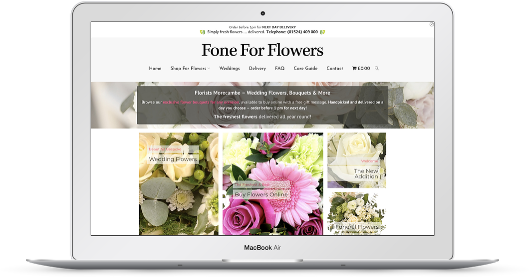 florists web design