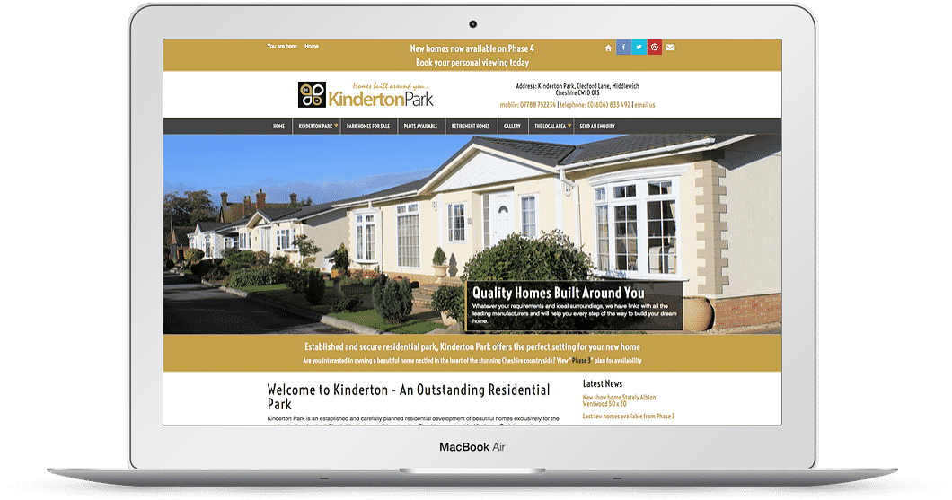 Property web design