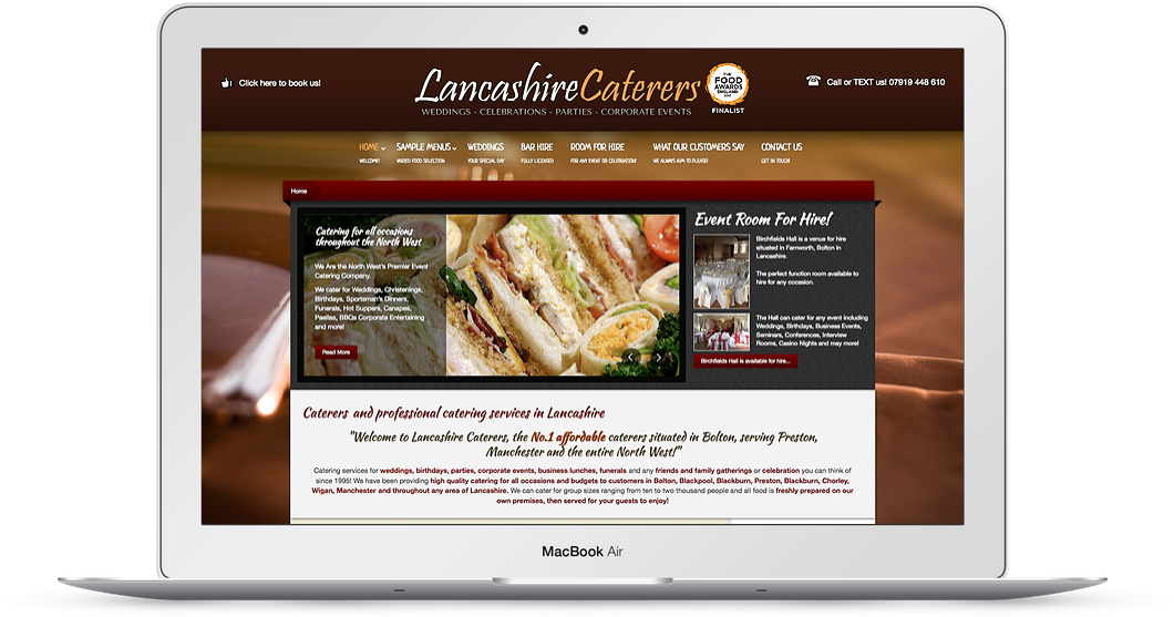 Lancashire-caterers-web-design