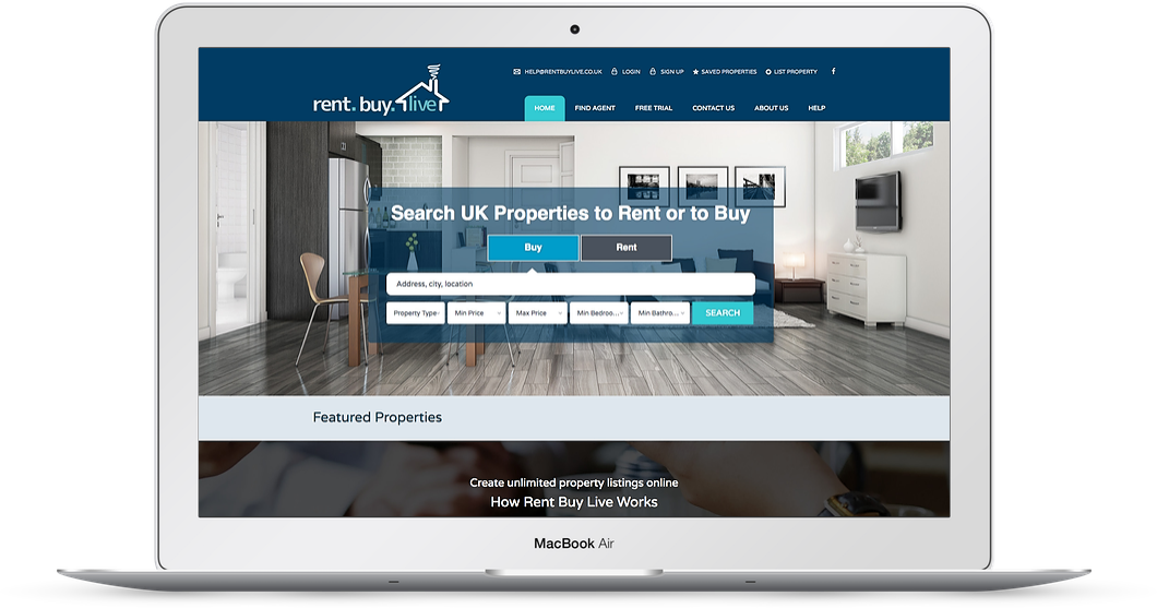 Rent-buy-live-web-design