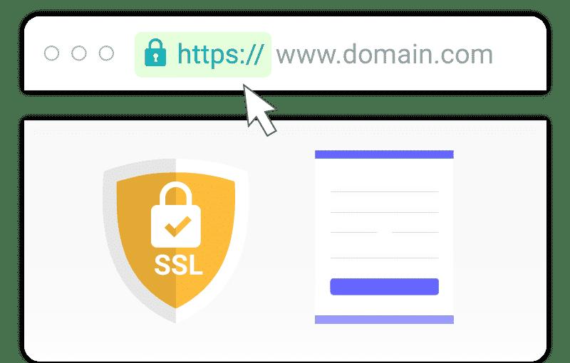 SSL website certificate